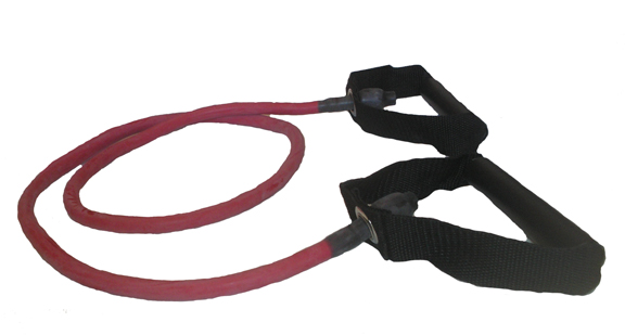 Balego™ Resistance Tubing with Handles, Heavy (Red)