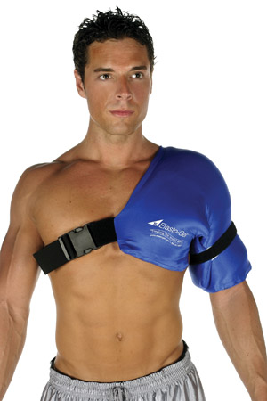 Elasto-Gel™ Hot & Cold Shoulder Compression Wrap #SW9001