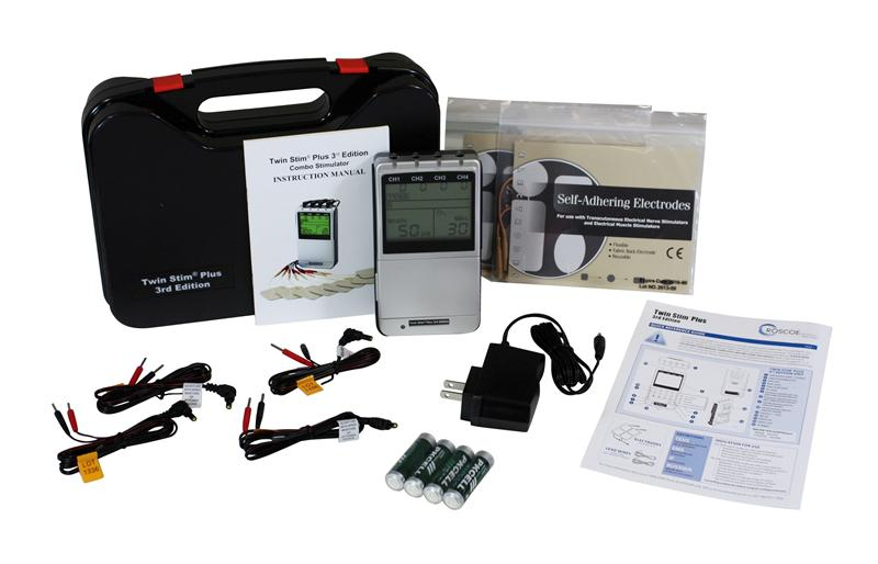 Balego® Four Channel Stim: TENS, EMS, Interferential and Russian
