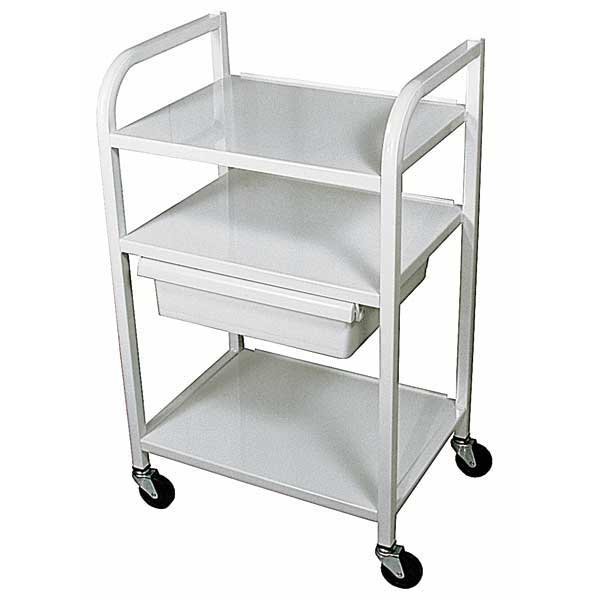 XL67 X-Large 3 Shelf Cart with Drawer
