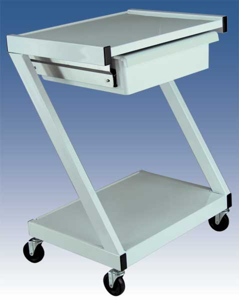 "Z99 ""Z"" style side-legs Cart w/Drawer"