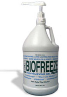 BIOFREEZE® one gallon dispenser (case of 4)