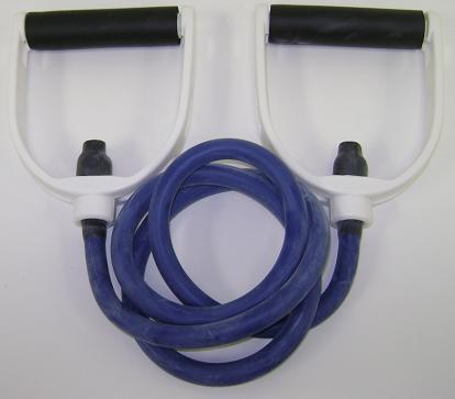 Balego™ Tubing w/Premium Molded Foam Handles, Extra-Heavy (Blue)