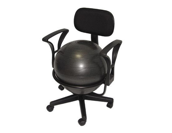 Fitness Ball Chair Deluxe