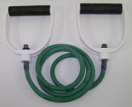 Balego™ Tubing w/Premium Molded Foam Handles, Medium (Green)