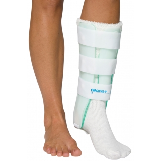 Aircast® Leg Brace 03BL Leg Brace with Anterior Panel Left 15.5""