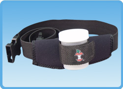 Jar Holster Belt with Jar