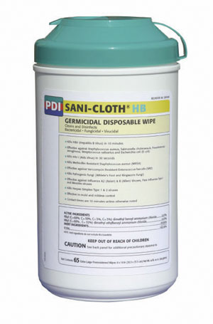 Sani-Cloth® HB Canister XL