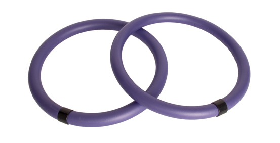 "Pilates Ring: Black (37001), 14"" dia."