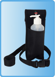 Oil and Lotion Holster Single with Bottles