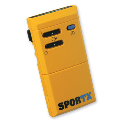 SporTX® 2 Channel, Preset Combo TENS/Pulsed DC Unit