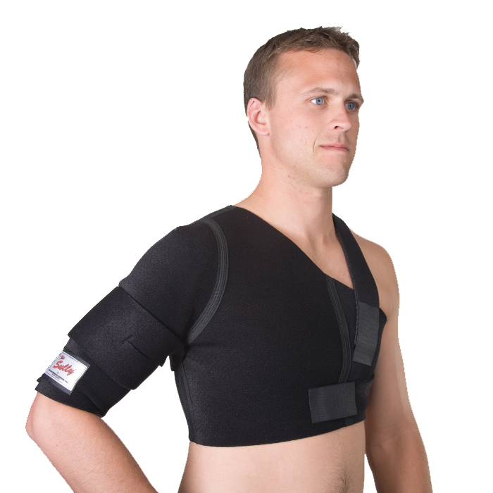 "Sully® Shoulder Stabilizer, X-Small: Chest 34-40"" Bicep 9-10.5"""
