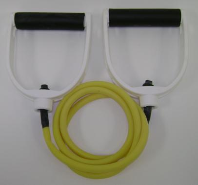 Balego™ Tubing w/Premium Molded Foam Handles, Light (Yellow)