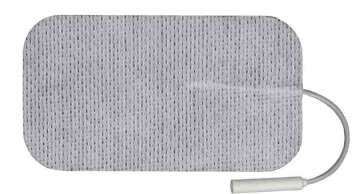 "Balego® Carbon Cloth 2"" x 3.5"" Electrode (Rectangle), 4/pk"